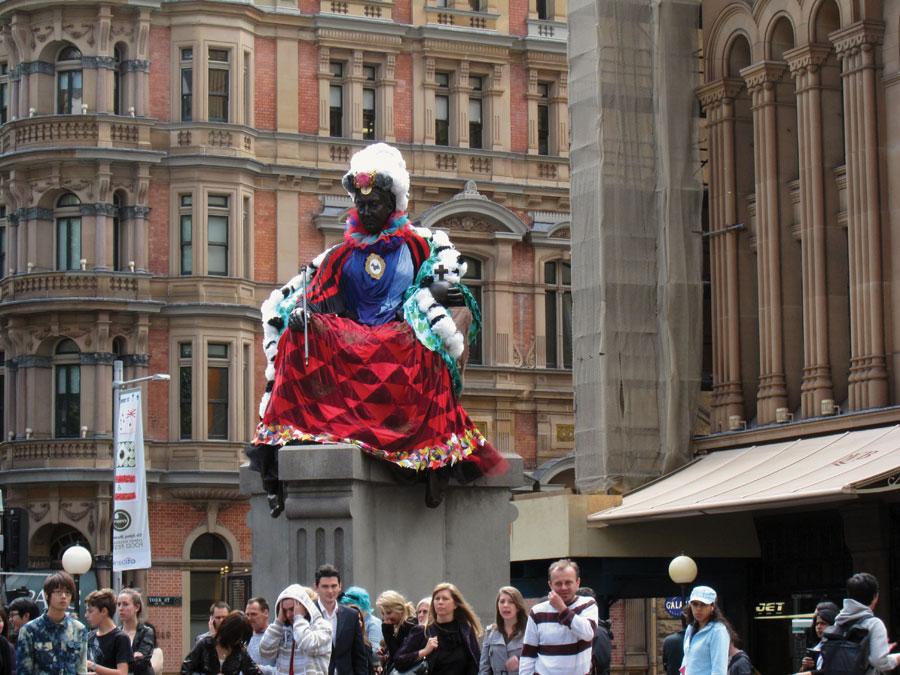 Queen Victoria at QVB